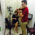 Lớp Vilon 01 kèm 01 tại Trường Âm Nhạc Việt Thanh