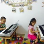 dạy đàn piano cho trẻ
