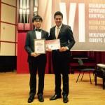 giải nhất cuộc thi violin quốc tế