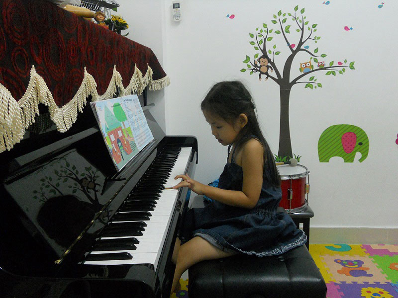 Dạy đàn Piano cho trẻ em từ 4 - 5 tuổi