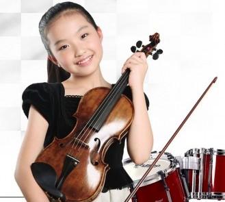 trẻ học đàn violin