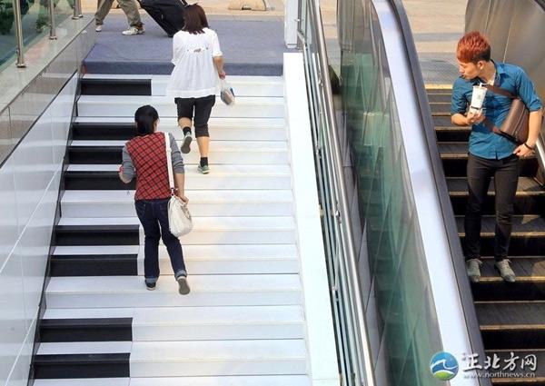 cầu thang piano