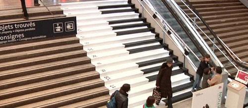 cau thang piano