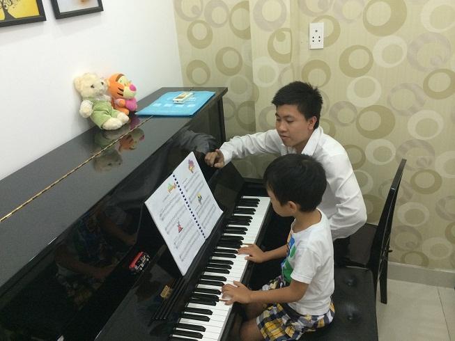 Lớp học Music for Little Mozarts tại Trường Âm Nhạc Việt Thanh