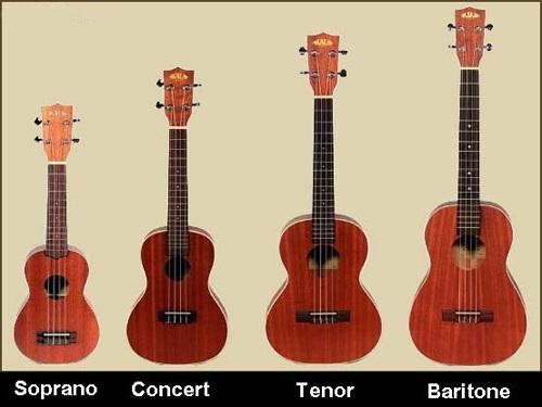 học ukulele