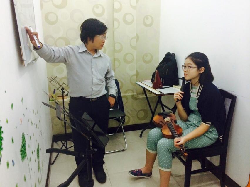 Lớp học đàn violin 01 kèm 01