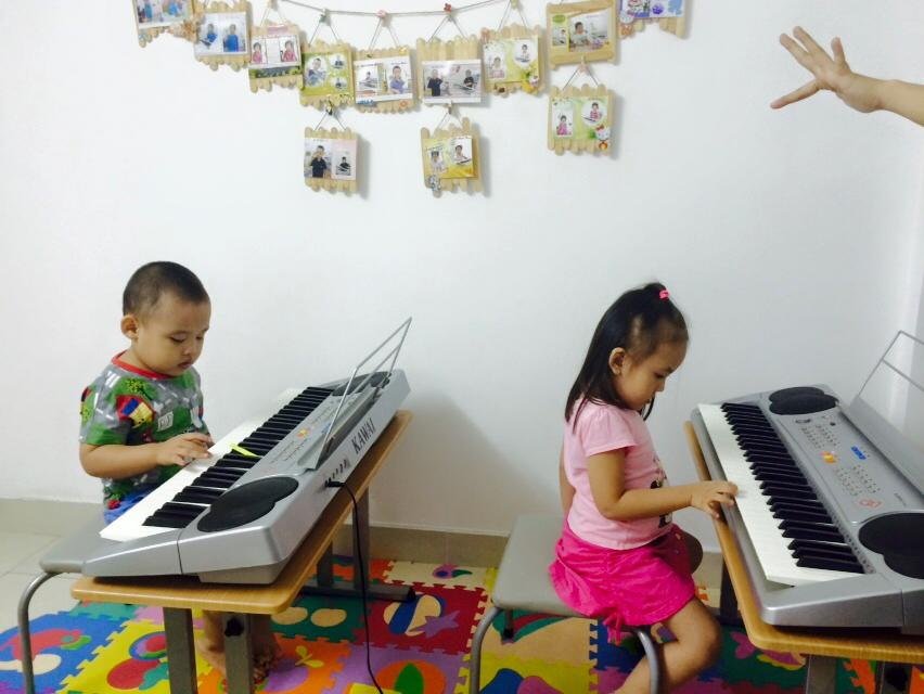 dạy đàn organ căn bản